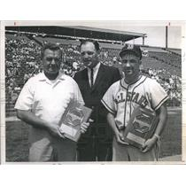 1965 Press Photo Lou Kellogg Regis High School Baseball- RSA30489