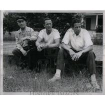 1950 Press Photo Leonard Mitchell American Football - RRX51585