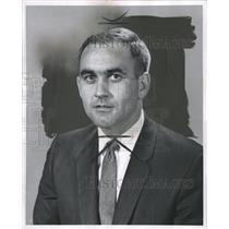 1963 Press Photo Walter Smith Scottish football manager - RRW36193