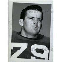 1965 Press Photo John Ganley Eastern Illinois Gridder - RRW74947