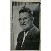 1950 Press Photo Earl dutch Clark football coach - RRW72699