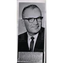 1963 Press Photo Cleveland Brown football coach Blanton - RRW80739