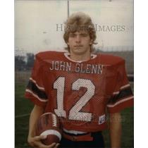 Press Photo John Glenn High QB Mike Hammontree - RRX39371