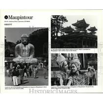 1985 Press Photo Maupintour's deluxe tours of the Orient. - cvb05783