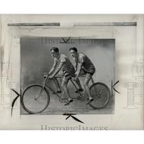 1949 Press Photo Ernest Joseph Moross Bike Champions
