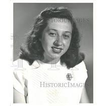 1948 Press Photo Doris Travani Cyclist - RRV34259