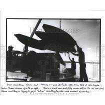 1986 Press Photo Southland Regatta Boat Races