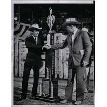1964 Press Photo Bill Kornell Rookie of year - RRX25501