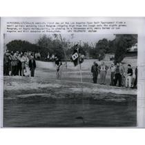 1960 Press Photo LA Golf Tournament Lloyd Mangrum - RRX43069
