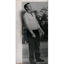 1959 Press Photo Doug Sanders Misses A Putt - RRW73625