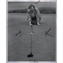 1946 Press Photo Marjorie Row golfer Hall County George - RRX50051