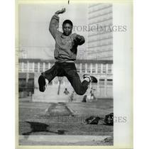 1984 Press Photo Gymnastics track Prairie State Games - RRW22605