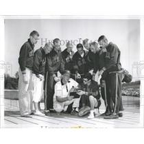 1959 Press Photo Pan American Games Rowing Team - RRW52181