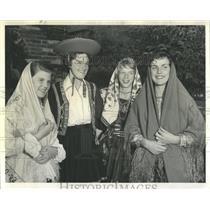 1959 Press Photo Salute to Pan-Am Games - RRW52163