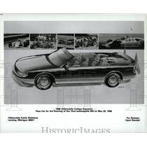 1987 Press Photo The 1988 Oldsmobile Cutlass Supreme