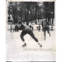 1958 Press Photo Charles Campbell Dave Palmer Peirce - RRW43331