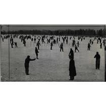 1941 Press Photo Denver Colorado City Park Skating Rink - RRX76285
