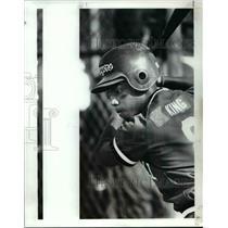 1989 Press Photo Devon King of John Marshall - cvb41123