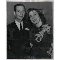 1939 Press Photo Fred Whealen Tullis Halina Tomski - RRX49025