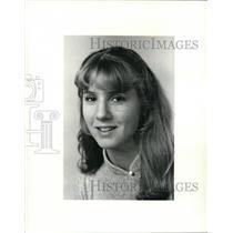 1984 Press Photo Megan McGuire, Lakewood High volleyball player - cvb43206