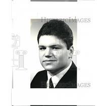 1987 Press Photo Phil Quinn, Aurora Wrestling - cvb43238