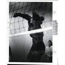 1988 Press Photo Fairview High, Girls Volleyball - cvb43435