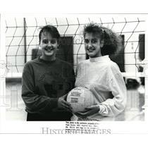 1988 Press Photo Fairview High, Girls Volleyball - cvb44613