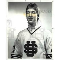 1988 Press Photo Mike Heckman, University School, Hockey - cvb46574