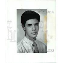 1988 Press Photo Player of the Week, Ben Labovitz, Cleveland Hts., Hockey
