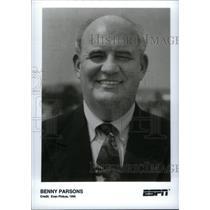 1996 Press Photo Benny Parsons ESPN - RRX40283