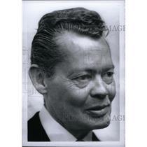 "1965 Press Photo Edgar ""Doc"" Greene Detroit News - RRX45843"