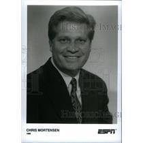 1996 Press Photo Chris Mortensen Sportscaster ESPN - RRX39793