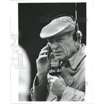 1985 Press Photo Jack Whitaker American Sportscaster - RRW36763