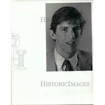 1985 Press Photo All Scholastic Wrestlers, Brian Chambers St. Ed's - cvb48333