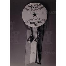 1951 Press Photo All Star Gam Detroit Michigan - RRW73071