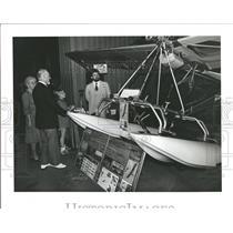 1982 Press Photo AVIATION MIRAGE ULTRALIGHT CRAFT- RSA05795