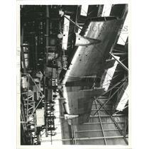 1938 Press Photo Stratosphere Plane Wing DC4 Douglas - RRX95241