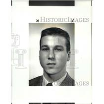 1987 Press Photo POW- Ted Kohanski- Hockey - cvb52735