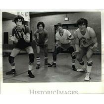 Press Photo l-r Jerry Johnson, Mike Bellissino, Steve Topoly Bob Maljarik