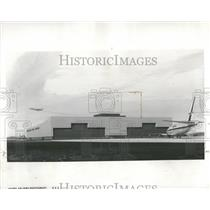 1967 Press Photo United Air Lines O'Hare Airport