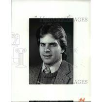 1987 Press Photo North Olmsted ice hockey player-Keith Zibin - cvb60592