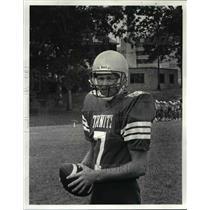 1986 Press Photo: Trinity High School Football - Dave Bieliska - cvb60845