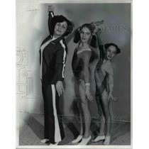 1978 Press Photo L-R: Ida Davidovich, Anita Jarema & Debbie Morgan - cvb65139