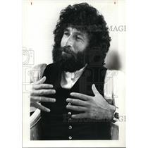 1980 Press Photo Actor Niko Nitay - cvb13690