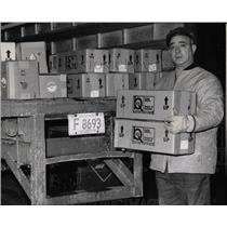 1968 Press Photo Hong Kong flu vaccine Angelo Lamantia - RRW65497