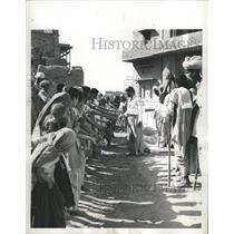 1956 Press Photo Unicef Health Aid Sachakhera India - RRX88153