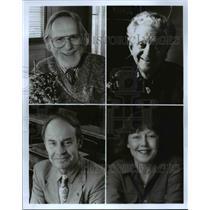 Press Photo: Ken Howard, Sherwood Fohrman, Steve Marsel, and Pierre Dury