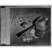 1958 Press Photo Explorer II Satellite Spacecraft Mich - RRW83221