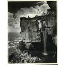 1977 Press Photo Rock City Falls, Tennesse - cvb18787