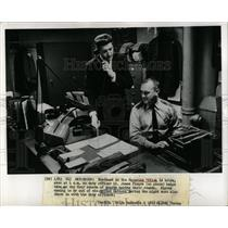 1963 Press Photo James Finore Watchdog Guard rounds - RRW67291